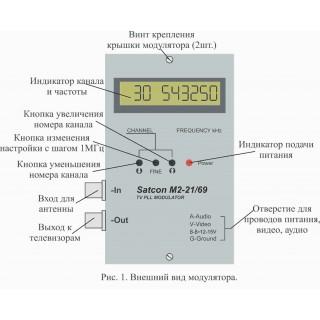 Модулятор М2  21-69